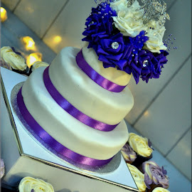 Wedding cake by Nic Scott - Wedding Other ( cake, food, wedding cake )