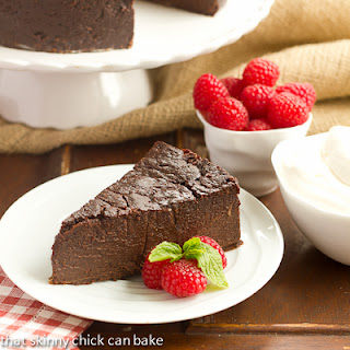 Flourless Chocolate Kahlua Cake