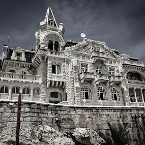 Cascais by Mike Hotovy - Black & White Buildings & Architecture (  )