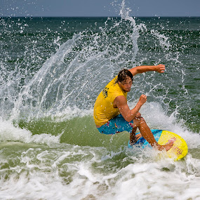OBX Skim Jam competition 00338 by Lawayne Kimbro - Sports & Fitness Surfing ( skimboard, skimming, sand, obx, outer banks, wave, summer, ocean, beach, sun, competition, skim )
