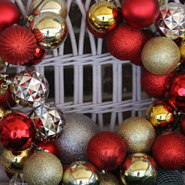 Christmas Balls by Terry Linton - Public Holidays Christmas