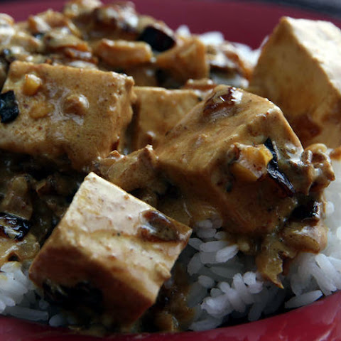 Curried Tofu With Soy Sauce