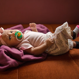 My Nael by Eeezam Mon - Babies & Children Babies ( #baby, #sleeping, #cute, #babygirl, #girl )