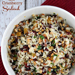Dried Cranberry Chicken Wild Rice Salad Recipes