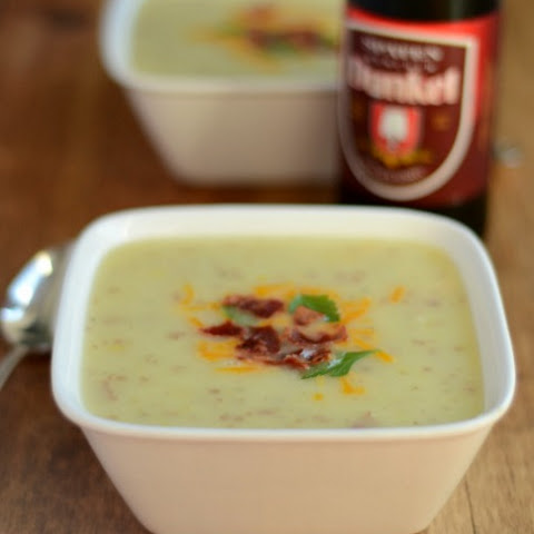 Red Potato and Leek Soup