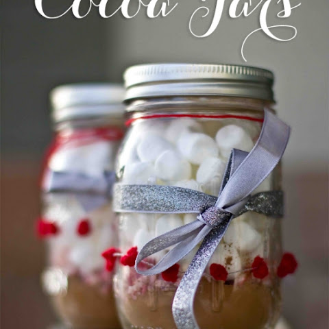 Cocoa in a Jar Gift- Perfect for Christmas or Valentines!
