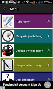 Tips Belajar Stand up Comedy - screenshot