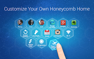 Screenshot of Honeycomb Launcher