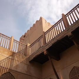 Jibreen Castle by Zulkifli Khair - Buildings & Architecture Public & Historical ( castle, nizwa, muslimheritage, oman )
