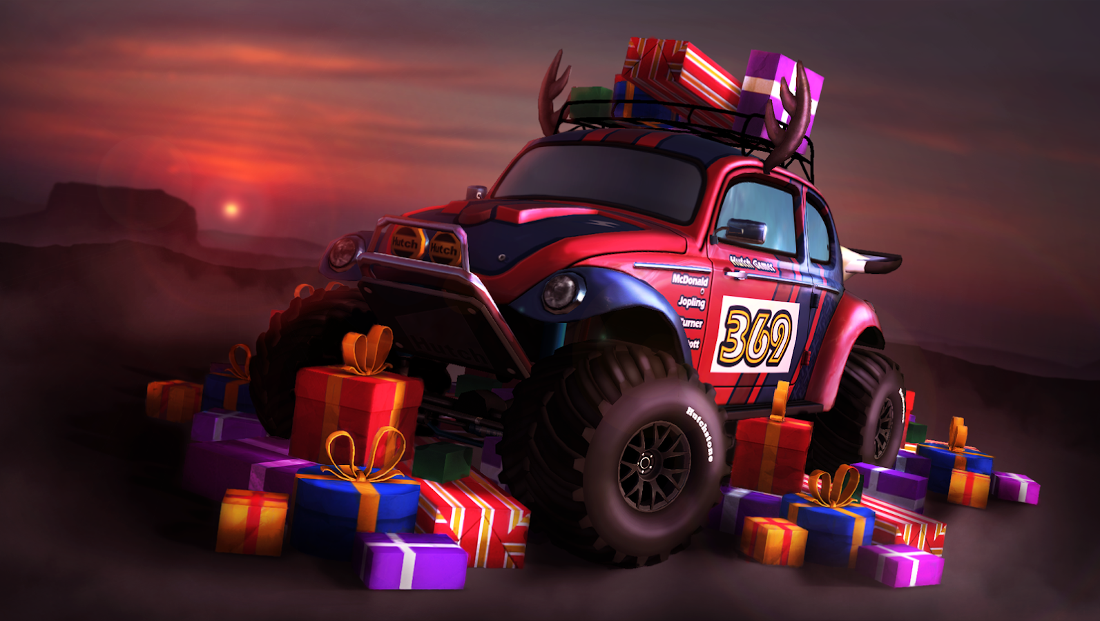 MMX Racing Screenshot 1