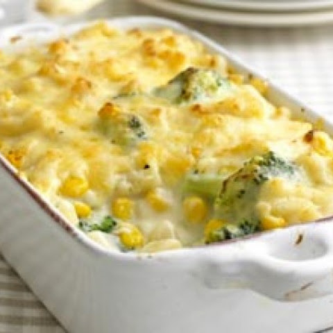 Macaroni Cheese With Broccoli