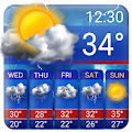 Free Weather Forecast App Widget-Snow Squall ALert APK