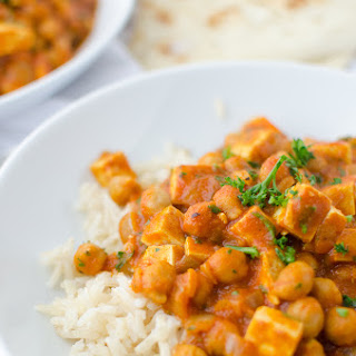 Slow Cooker Butter Chickpeas