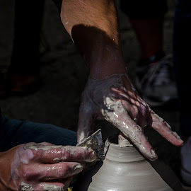 potter-1 by Fred Faulkner - People Professional People ( pottery, art, artisan, potter, clay,  )