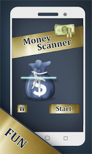 Fake Money Scanner Prank - screenshot