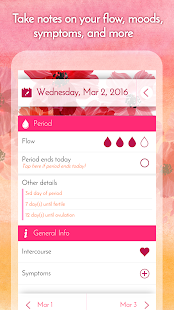 Period Calendar, Cycle Tracker APK Descargar