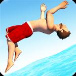Flip Diving Icon
