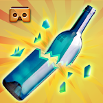 VR Bottle Shoot Army Training Icon