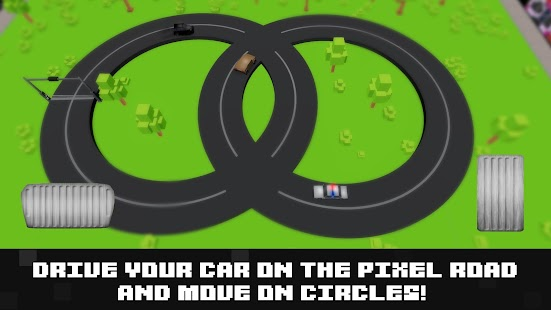 Pixel Loop Drive 3D - screenshot