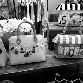 Purses by Mikayla Diaz - Wedding Bride ( contest, bag, black and white, photography, shopping )
