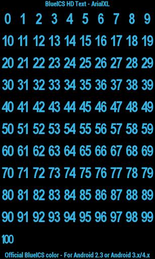BN Pro BlueICS HD Text screenshot 8