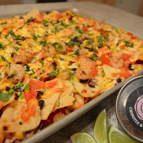 How To Cook Napa Jack's Chipotle, Black Bean And Shrimp Nachos