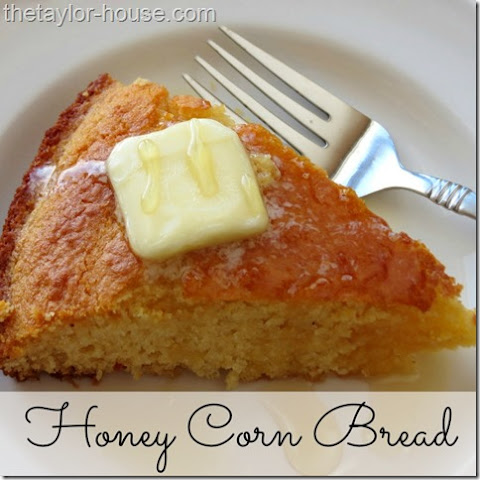 Sweet Honey Corn Bread