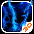 Lightning Storm Tech 3D Theme APK for Ubuntu