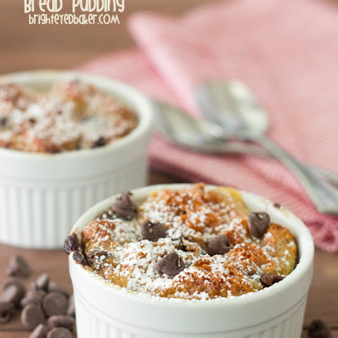 Strawberry Cake Bread Pudding