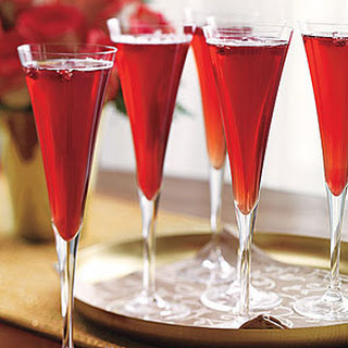 Champagne Pomegranate Juice Cocktail Recipes