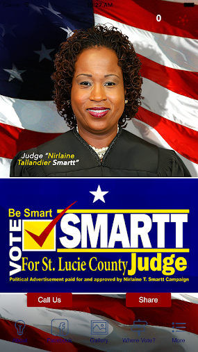 Keep Judge Smartt for St Lucie APK