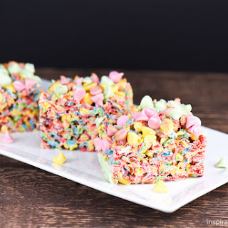 Easter Marshmallow Krispy Treats