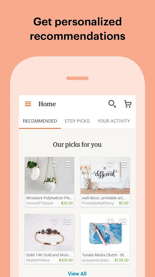 Etsy: Handmade & Vintage Goods Screenshot 2