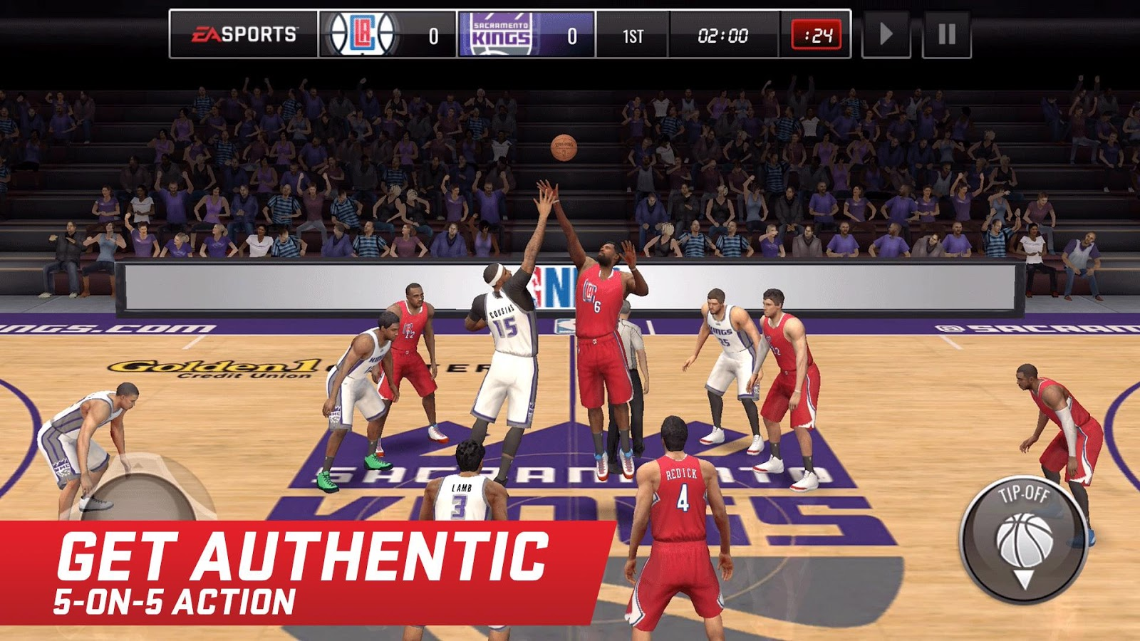 NBA LIVE Mobile Basketball Screenshot 0