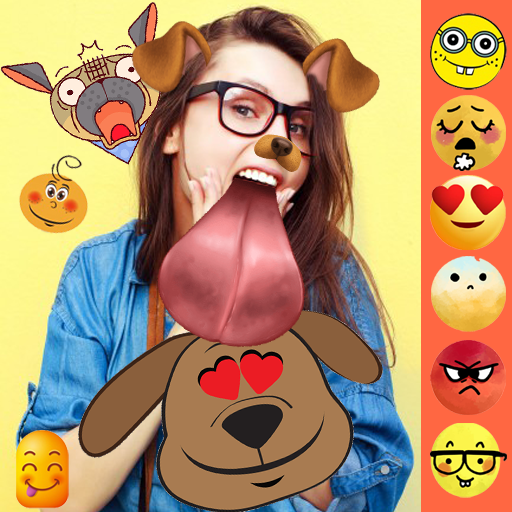 Live Emoji Sticker - Crayz Snapy Face Emojis (app)