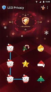 AppLock Theme-Merry Christmas APK for Bluestacks
