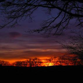 loučení by Libuše Kludská - Landscapes Sunsets & Sunrises