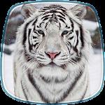 White Tiger Live Wallpaper Icon