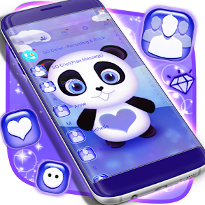 Panda Theme SMS For PC