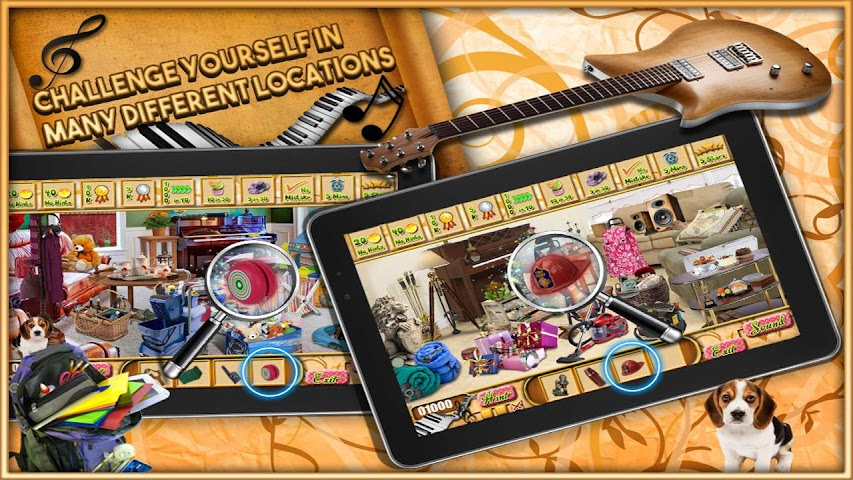 android Classic Piano - Hidden Object Screenshot 1