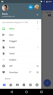 Nine - Outlook for Android Screenshot