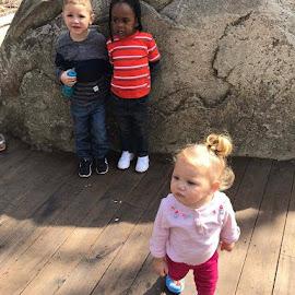 Looking around by Terry Linton - Babies & Children Children Candids
