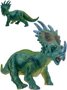 "Игрушка-фигурка серии ""Город Игр"", динозавр стиракозавр L, со звуком"