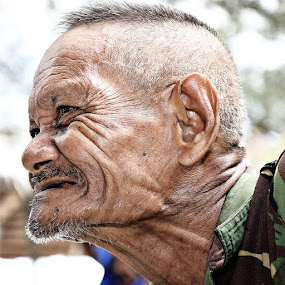 the old man by Taufiqurrahman Setiawan - People Portraits of Men