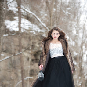 Winter Beauty in the Wonderland by Elizabeth Craig - People Fashion ( winter wonderland session, fashion photography )