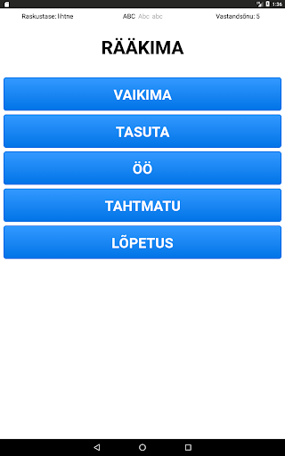 Vastandaja screenshot 2