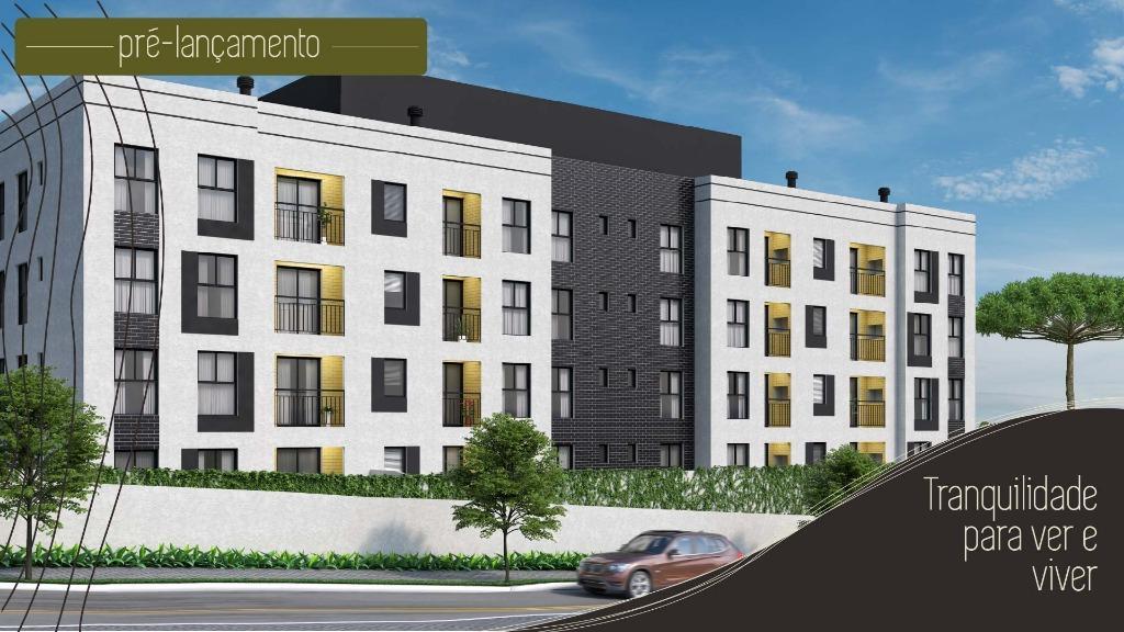 Apartamento com 3 dormitórios à venda, 56 m² por R$ 180.900 - Centro - Araucária/PR