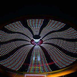 wheel in motion by Nick Cancilliere - Abstract Light Painting (  )