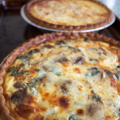Easy Cheesy Quiche.