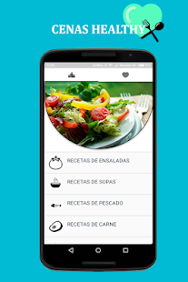Cenas Healthy Fitness app screenshot for Android